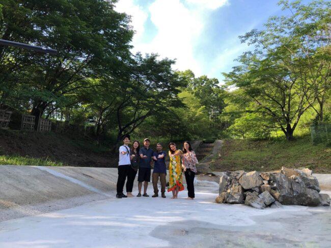 現地視察会『廃墟のプールをホタルの水辺へ』プロジェクト